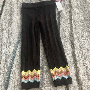 Missoni x Target leggings, 4T
